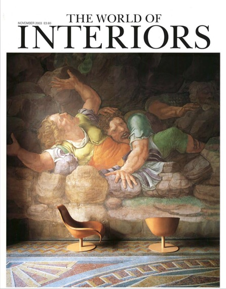 WORLD OF INTERIORS NOV 03